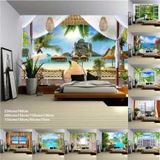 waterfalltapestry, Wall Art, foresttreetapestry, hangingtapestry