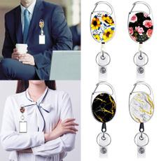 telescopickeychain, Flowers, Key Chain, idcardbadgeholder