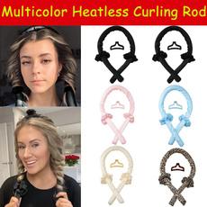 Hair Curlers, heatlesswave, lazycurler, heatlesscurlingrod