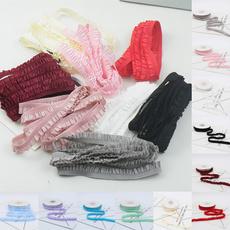 laceedge, Fashion, Lace, Pleated