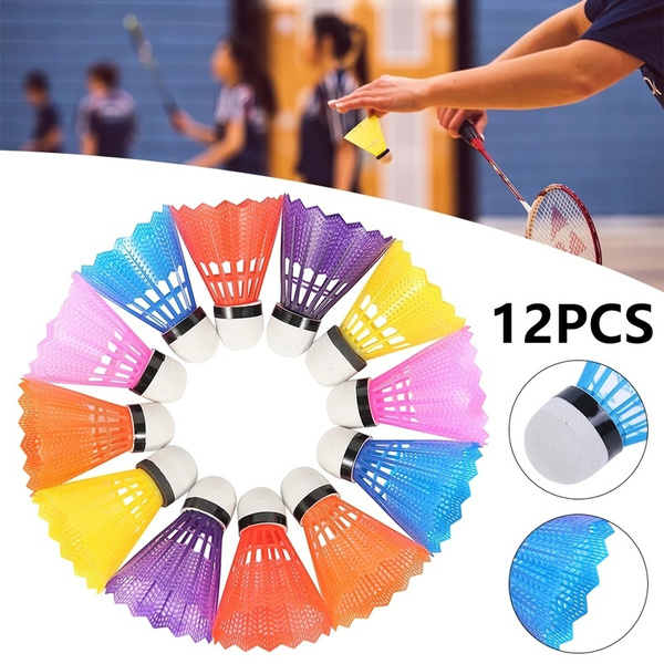 colorbadminton, childrenbadminton, plasticshuttlecock, Colorful