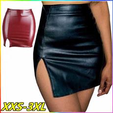 Mini, pencil skirt, Waist, Office