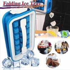 Box, Silicone, Storage, Ice