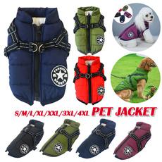 Jacket, Vest, leashaccessorie, sleevelessjacket