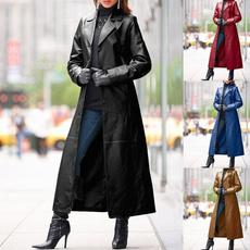 steampunkcoat, bikerjacket, Plus Size, Long Coat