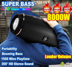 Box, Stereo, Outdoor, Wireless Speakers