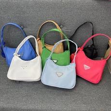 Shoulder Bags, Nylon, handbags purse, Cloth
