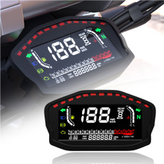 motorcycletachometer, motorcyclespeedometer, fuellevel, vehiclespeedomater