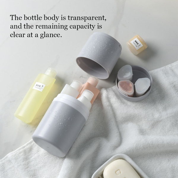 Travel, canboard, Plastic, travelcosmeticbottle
