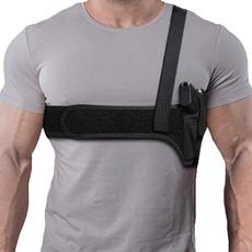 pistol, shoulderholster, shoulderstrapholster, portableholster