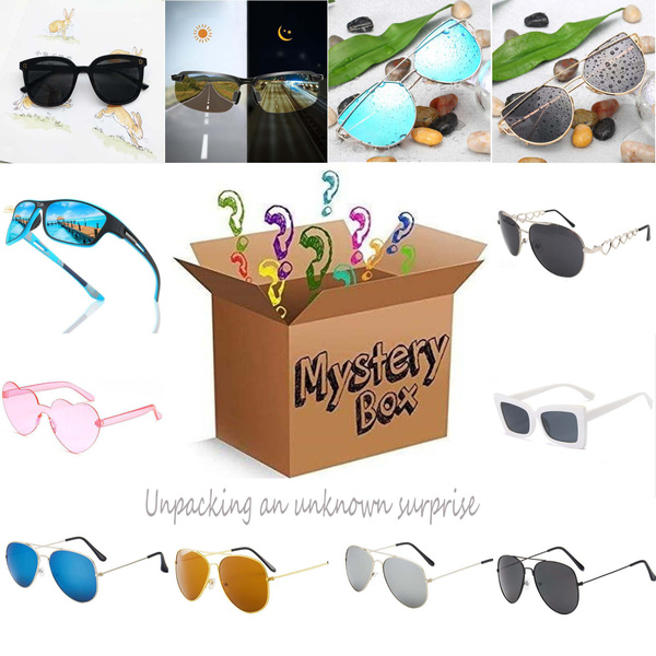 Box, Fashion Sunglasses, premium, mysterybox