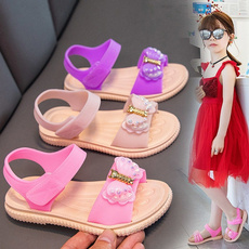 Summer, Sandals, Princess, Children
