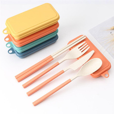 wheattrawfork, wheatstrawcutlery, wheatstrawspoon, outdoorcutlery