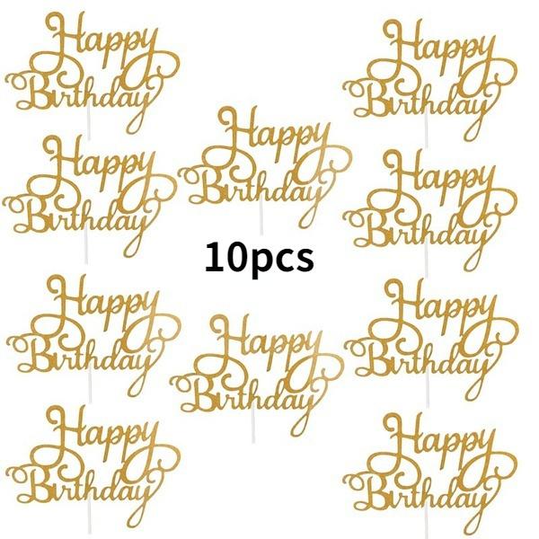 happybirthday, cakeinsert, Baking, birthdaytophat