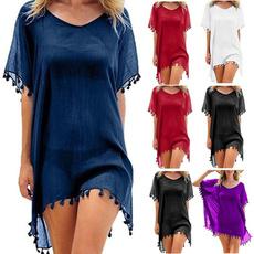Summer, Tassels, Fashion, women beachwear