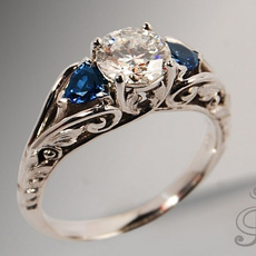 Antique, Sterling, Fashion, 925 sterling silver