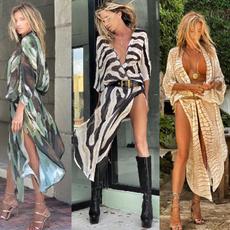 beach wear women, Summer, long skirt, Fashion