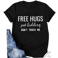 freehugsjustkiddingdonttouchme, humorfunnytshirt, Shirt, freehugsshirt