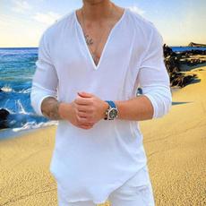 Outdoor, beachshirtsformen, Casual T-Shirt, Long sleeved