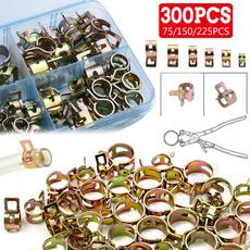 Steel, Stainless, throattubeclamp, tubespringclip