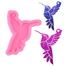 collanatortamodello, hummingbirdstyle, Key Chain, siliconebirdmold