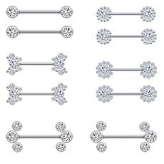 Steel, nipplepiercing, Stainless Steel, 316lstainlesssteel