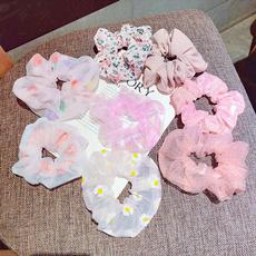 pink, cute, scrunchie, Elastic