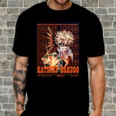 myheroacademia, Cotton Shirt, katsukibakugofrombokunoheroacademia, menwomentshirt