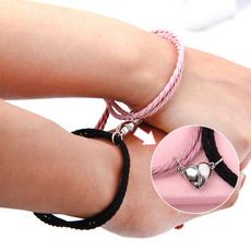 Heart, lover gifts, bracelets for couple, loverbracelet
