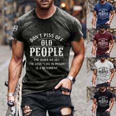 Summer, Fashion, popularshirt, Sleeve
