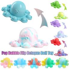 Octopus, Mini, Toy, Key Chain