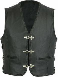 leatherbikervest, bikerring, Vest, harleydavidsonclothe