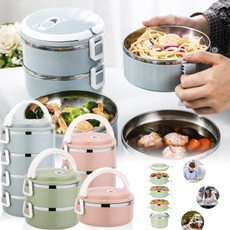 Box, thermallunchbox, multilayerlunchbox, Stainless Steel