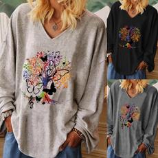 blouse, Plus Size, Women Blouse, Long Sleeve