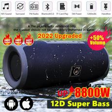 Outdoor, Bass, Waterproof, Mobile