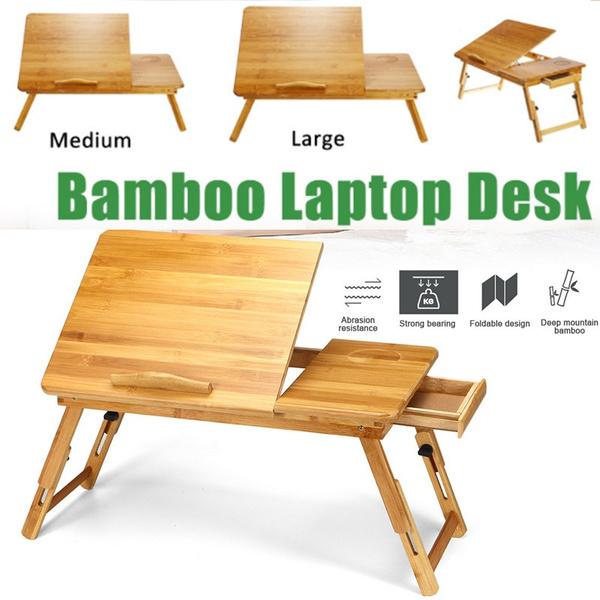 bamboolaptopdesk, readingtable, laptopstand, Laptop