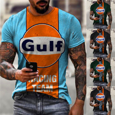 Fashion, popularshirt, geometricpattern, Tee Shirt