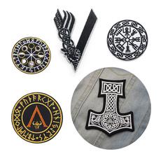 viking, amulet, thorhammer, Hammers