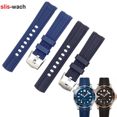 Blues, siliconewatchband, Silicone, watchaccessorie