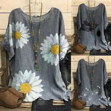 blouse, Summer, blouse women, Sleeve