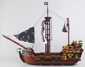 Toy, buildingblock, Classics, shipbricksmodel