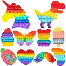 butterfly, rainbow, Toy, Ice Cream