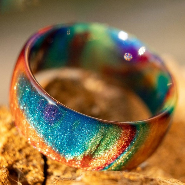 blackfireopalring, fireopalring, wedding ring, Gifts
