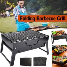 Grill, Picnic, foldingbarbecuerack, picnicsupplie