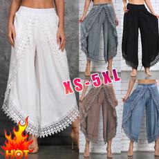 fashion women, yoga pants, Lace, pants
