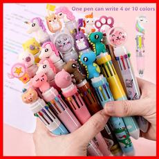 ballpoint pen, School, multicolorpen, Office
