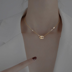 girlnecklace, Designers, Jewelry, letternecklace