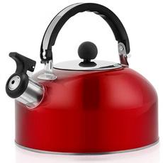 Steel, Home & Kitchen, whistlingteakettle, Tea