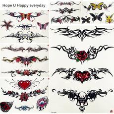 butterfly, tattoo, Jewelry, Chain