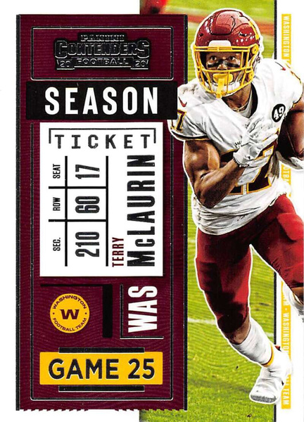 panini, Washington Redskins, terrymclaurin, 2020footballcard